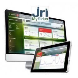 SiriusWeb Solução de monitoramento baseada em nuvem para equipamentos termocontrolados, armazéns e consumo de energia