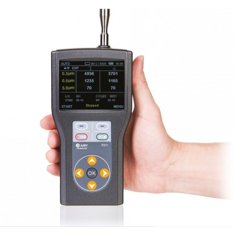 P311 Handheld Particle Counter (0.3 µm a 5.0 µm - 0.1 CFM, 2.83 LPM))