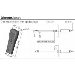 MM70 Medidor portátil de humedad y temperatura para comprobación de errores en aceite