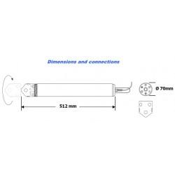 WMP6 Multiparametric Sensor (Ph-Level-Temperature-Conductivity-ORP-Oxygen+1 channel)