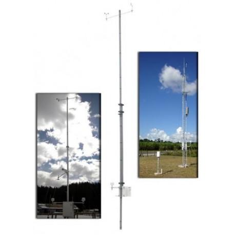 ST.WMO Kit Estación Meteorológica con Mástil de 10m