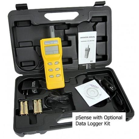Medidor de CO2 AZ-0002-DL com opção de registrador de dados (pilhas AA incluídas)