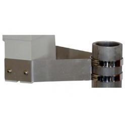500.312 Soporte universal para postes para pluviómetros profesionales