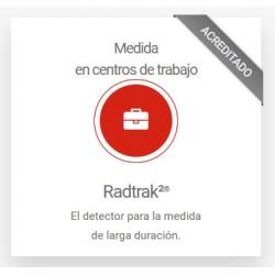 Radtrak²®-Work para Medidas de larga exposición de Radón en centros de trabajo