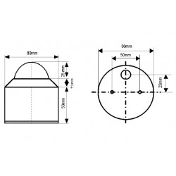 GSM/O Piranómetro 0-1300 W/m2