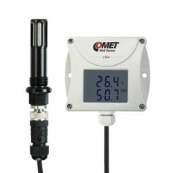 T3511P Sensor web: Higrómetro con termómetro remoto para aire comprimido con interfaz Ethernet