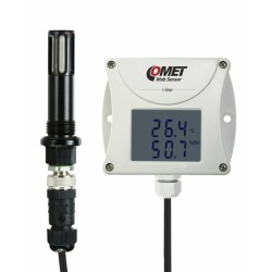 T3511P Web sensor - compressed air remote thermometer hygrometer with Ethernet interface