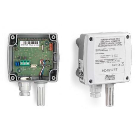 HD4917 Transmisor Doble Humedad Relativa y Temperatura