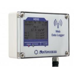 HD50PM - Registrador de Dados da Web de Material Particulado (Medidor de Partículas)
