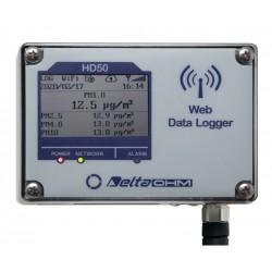 HD50PM - Registrador de Datos Web de Materia Particulada (Medidor de Partículas)