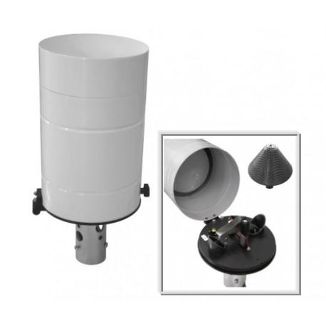 PL400R-N Pluviómetro Calefactado con 400cm2 (Saídal: pulsos)
