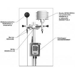 HD 35EDW DP TC Registrador de Dados Inalâmbricos de Capacidade de Nivel e Precipitación
