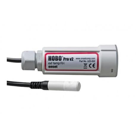 U23-002A Registrador de Datos con sensor externo de Temperatura y Humedad Relativa para Intemperie