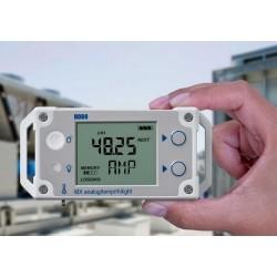 MX1105 HOBO Registrador de dados analógico de 4 canais Bluetooth