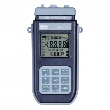 HD2107.2 Termômetro Pt100 com Data Logger (-200ºC a + 650ºC)