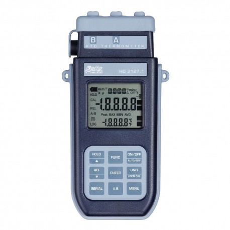 HD2127.2 Portable Thermometer (-200ºC ÷ +650ºC) with Data Logger