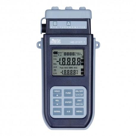HD2127.2 Termómetro Portátil (-200ºC ÷ +650ºC) con Data Logger