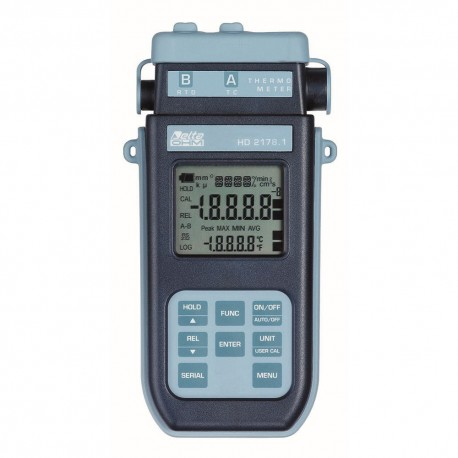 HD2178.1 Thermometer with Pt100 and Thermocouple inputs