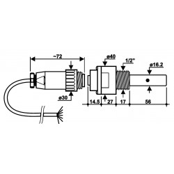 SPT401.001/W SONDAS DE CONDUCTIVIDAD INDUSTRIAL