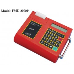 FMU-2000P Portable Ultrasonic Flowmeter