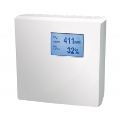 FS4083 Multi-sensor measuring device for rooms for CO2, VOC, Temperature and Humidity (0-10V)