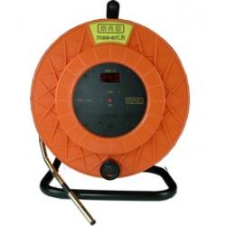 FRT-50 Indicador de nivel de agua con sensor de temperatura e indicador de fondo de pozo (50m)