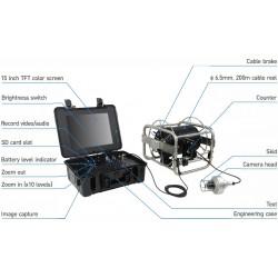 WPS-R1 Cámara de video de 300 m para detección de agua profunda y buscador de agua