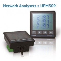 UPM309 Multi-function Three-phase Electrical Network Analyzer (RS485 or Ethernet)