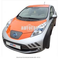 AE–01 Modelo Funcional Eléctrico basado en el Nissan Leaf