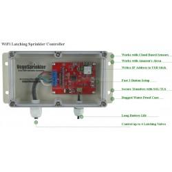 VG-SPRINKLER  VegeSprinkler - WiFi Latching Sprinkler Valve Controller, controls up to 4 valves
