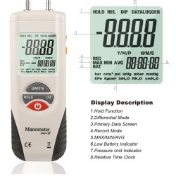 AO-HT-1890 Digital Manometer