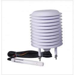 Sensor de Humedad y Presión de Temperatura  AO-330-01 (mostrado con el Protector AO-95-01 Opcional)