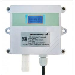 AO-330-02 Sensor de Temperatura e Umidade Atmosférica (Saídas: 4-20mA, 0-5V, 0-10V, RS485) suporte de parede
