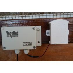 VG-SPRINKLER VegeSprinkler - Controlador de Válvulas de Riego WiFi (4 válvulas)