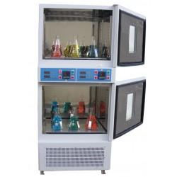 LOM-175-DUAL Dual Refrigerated shaker incubator (0°C to 70°C) 250 rpm