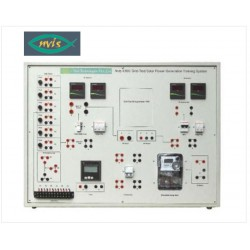 Nvis 436G Sistema de capacitación en Generación de Energía Solar conectada a la red