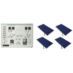 Nvis 436G Grid-Tied Solar Power Generation Training System