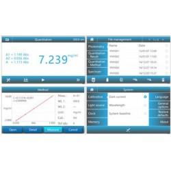 Spectro-UV6 Split Beam UV-VIS Spectrophotometer, 190-1100nm/ 1nm