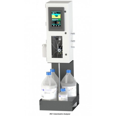 RS1-SILITRACE Monitoring system for measurement of silica in Water/Steam cycles and Ultra-Pure Water