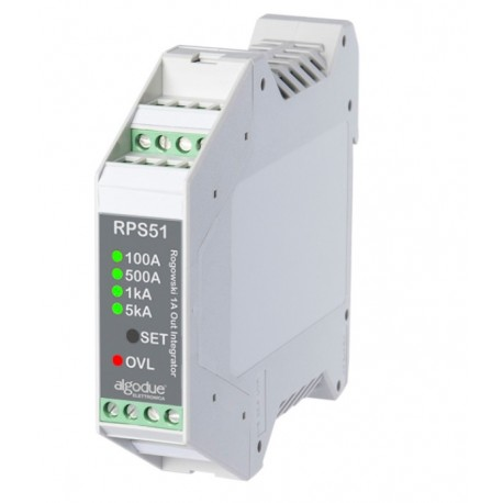 RPS51 Multiscale Rogowski coil integrator with 1 A output