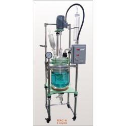 Reac-N5l Reator 5 litros, até 500 rpm (-80ºC a 200 ° C)