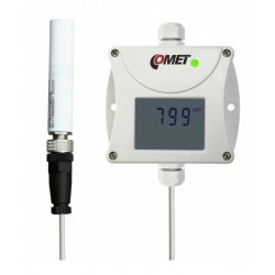CO2 concentration transmitter (with 4-20 mA output), external carbon dioxide probe and 1 m cable