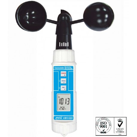 ABH-4224 Cup Anemometer Barometer/Humidity Temperature