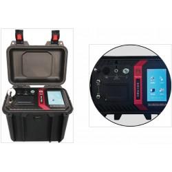 Monitor de radón portátil FYCDY-P30 (con accesorio para aire y suelo)