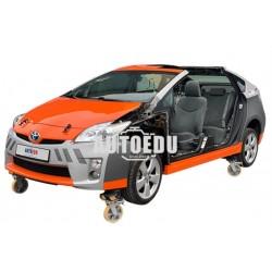 Modelo funcional com tecnologia Toyota Prius III a gasolina / elétrico / GLP HYBRID 3/4 - PMTPK-05