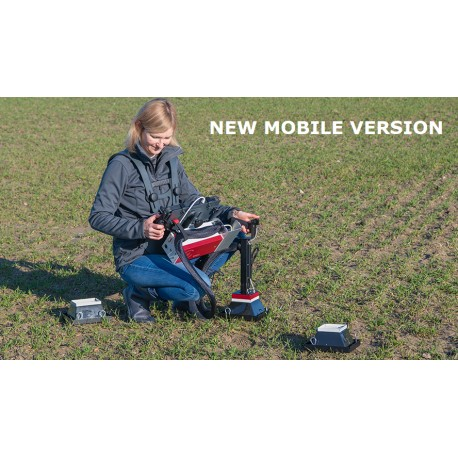 The MOBILE Version is dedicated to chlorophyll  fluorescence imaging in the field.