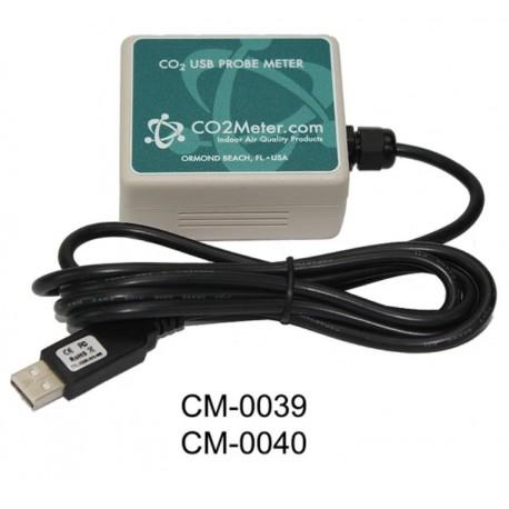 CM-0039 Medidor de CO2 por Sonda/Registrador de Datos USB 1% -30%