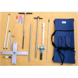 Kits de perfuração PR-AKC1Complete para sondas de perfil Delta-T