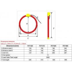 Thick Flexible Rogowski coil AO-FCT
