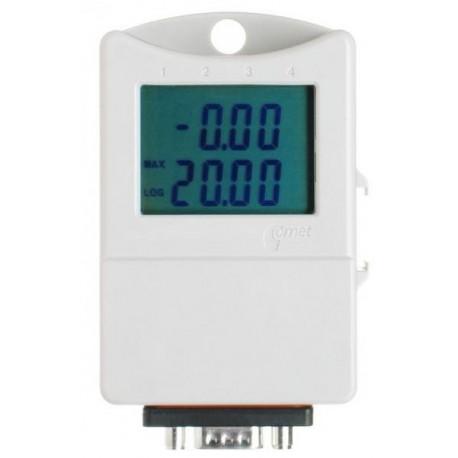 S6021 Registrador de Doble Canal para Corriente 0-20mA con Display